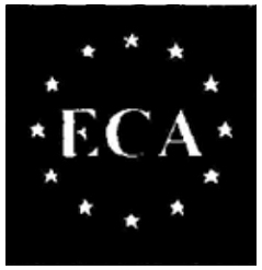 ECA logo with stars - Example 1