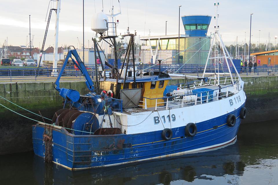 Illustris alongside another fishing vessel