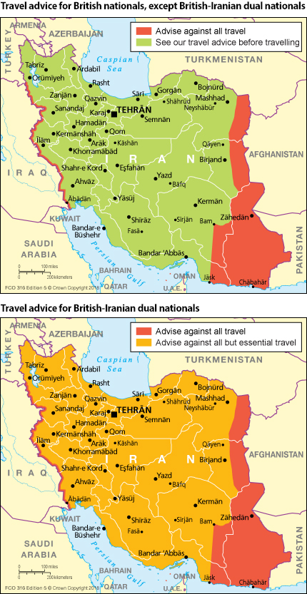 Iran travel advice - GOV.UK