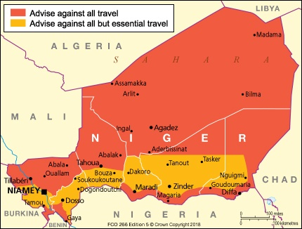 Niger travel advice - GOV.UK