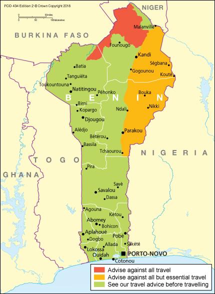 Benin travel advice - GOV.UK