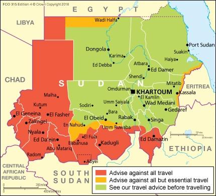 Sudan Travel Advice Gov Uk