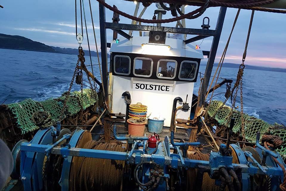 Fishing vessel Solstice