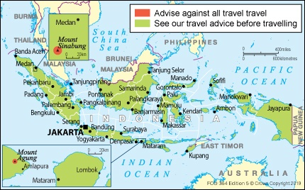 Indonesia travel advice - GOV UK