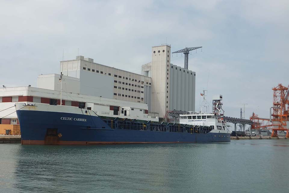 Fire in accommodation area on general cargo vessel Celtic