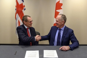 Adrian Simper and Richard Sexton sign collaboration agreement for further 5 years.