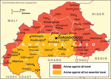 Burkina Faso travel advice - GOV.UK