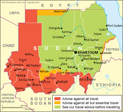 Sudan Travel Advice Gov Uk