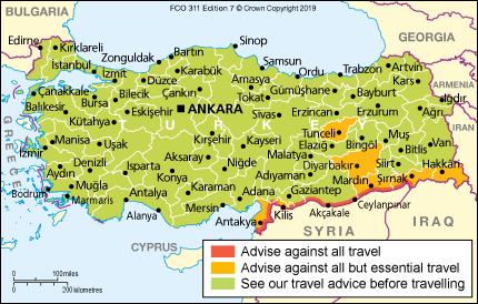 Turkey travel advice - GOV.UK