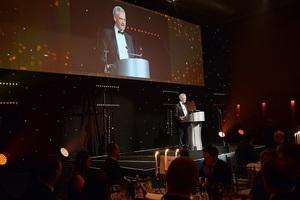 David Peattie, NDA CEO, at the Nuclear Skills Awards