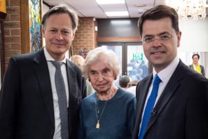 Communities Secretary at the Holocaust Survivors' Centre