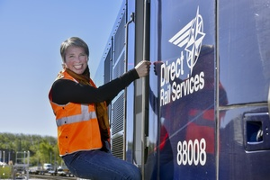 Debbie Francis, Direct Rail Services' Managing Director