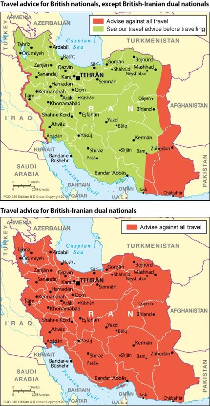Iran travel advice - GOV.UK