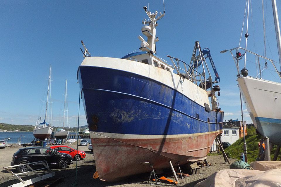 Photograph of fishing vessel Nancy Glen