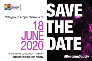 Save the date: 18 June 2020 (NDA Group Supply Chain Event) at International Centre, Telford