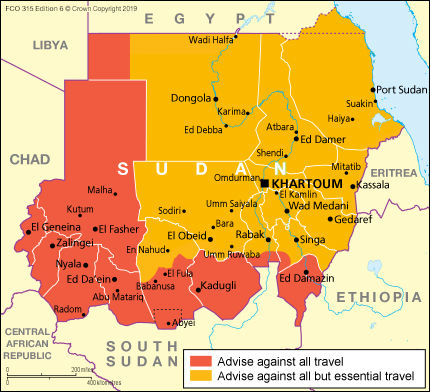 Sudan travel advice - GOV.UK