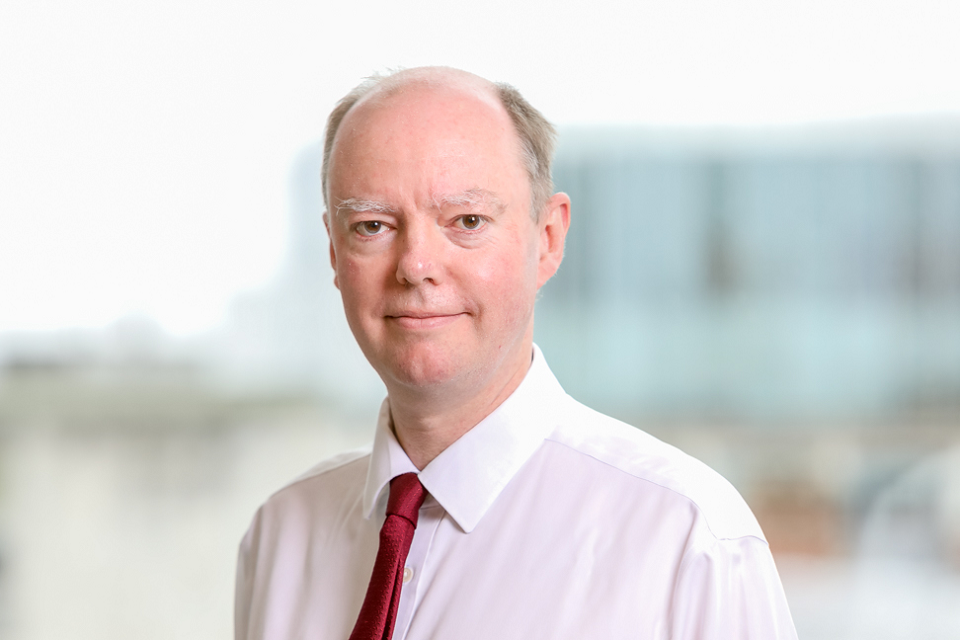New chief medical officer appointed - GOV.UK