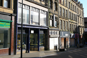 Parade of shops in Bradford