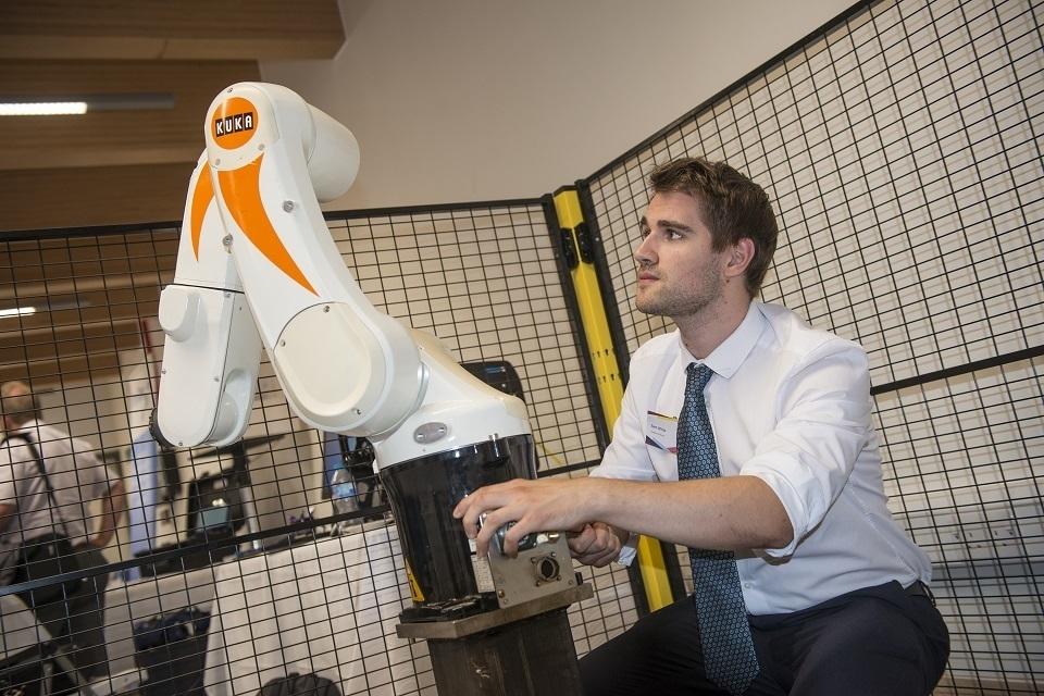 Robotics demonstration at the NDA's Stakeholder Summit 2018