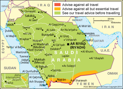 Saudi Arabia travel advice - GOV.UK on