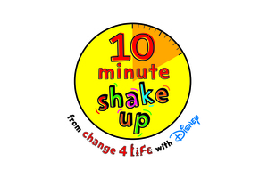 10 minute shake up logo