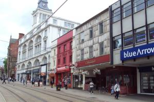 Sheffield high street