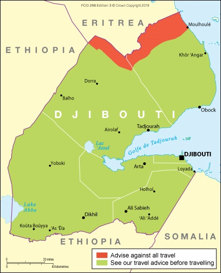 Safety and security - Djibouti travel advice - GOV UK