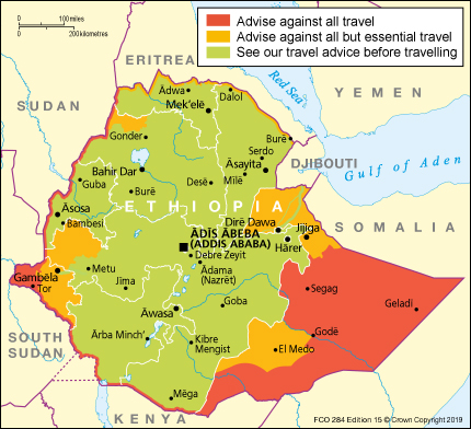 Ethiopia travel advice - GOV UK