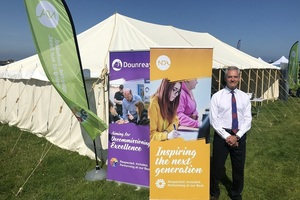 NDA CEO David Peattie at the Mey Highland Games