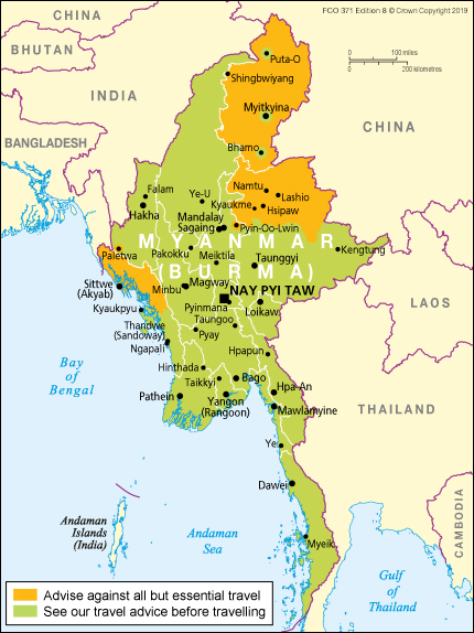 Myanmar travel advice - GOV.UK on mon state myanmar map, kachin state map, chin state myanmar map, shan state army south, military bases washington state map, kayin state myanmar map, glen falls new york state map, idaho state map, lashio on map, northern new mexico map, shan state in thailand, rakhine state myanmar map, gongga shan china map, shan state 1942, shan state dress, altun shan map,