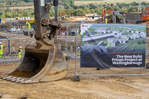 Building work starts on new Wellingborough jail