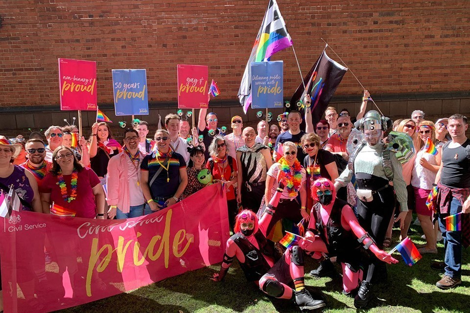 Civil Service Pride at Manchester Pride