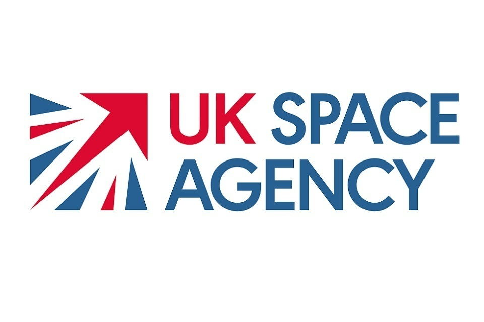 The UK Space Agency logo