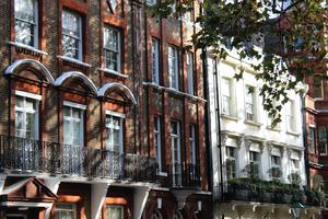 London terraced housing