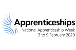 The National Apprenticeship Week 2020 logo.