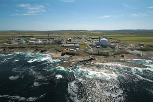 Dounreay site in Caithness, the UK's former centre of fast reactor research and development