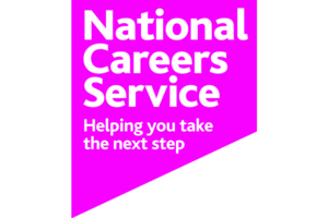 The National Careers Service logo.