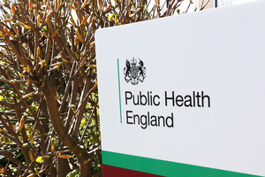 Public Health England branded sign