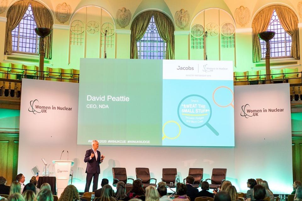David Peattie, NDA CEO and Patron of WiN UK