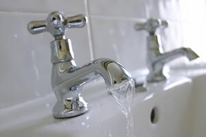 Running water taps