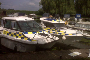 Image of Environment Agency patrol boats