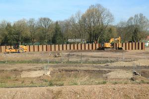 Environment Agency continuing flood defence work