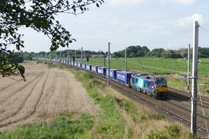 DRS' distinctive locomotives are moving thousands of shipping containers every week