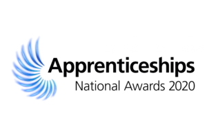 The National Apprenticeship Awards 2020 logo.