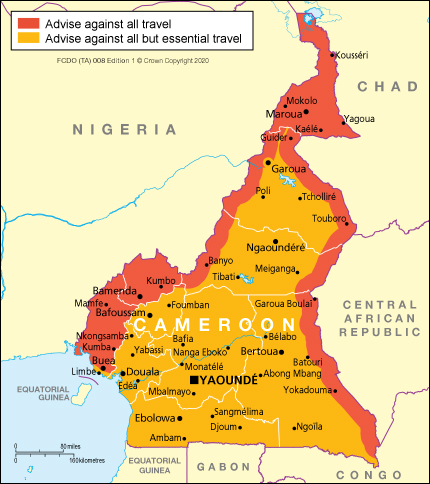 Cameroon Travel Advice Gov Uk