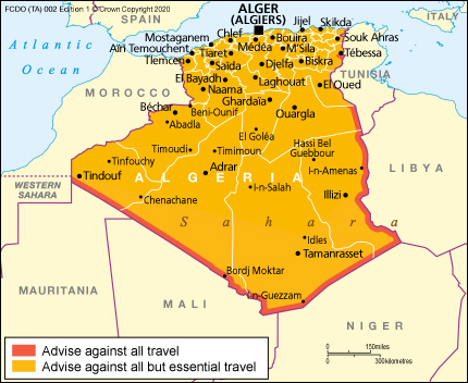 Entry Requirements Algeria Travel Advice Gov Uk