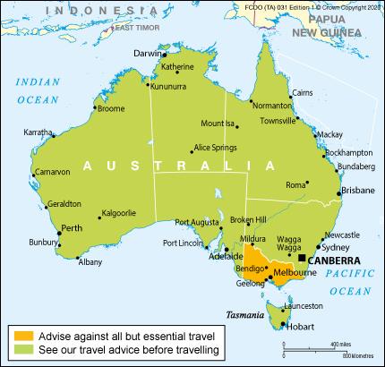 Australia travel advice - GOV.UK