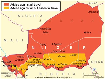 Terrorism - Niger travel advice - GOV.UK