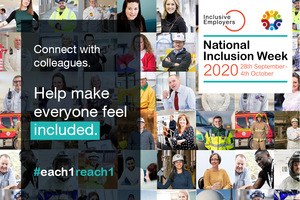 National Inclusion Week 2020 starts on Monday September 28th