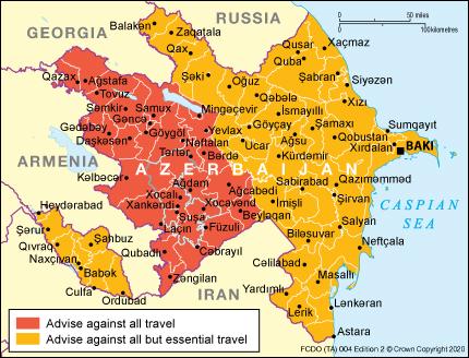 Entry Requirements Azerbaijan Travel Advice Gov Uk